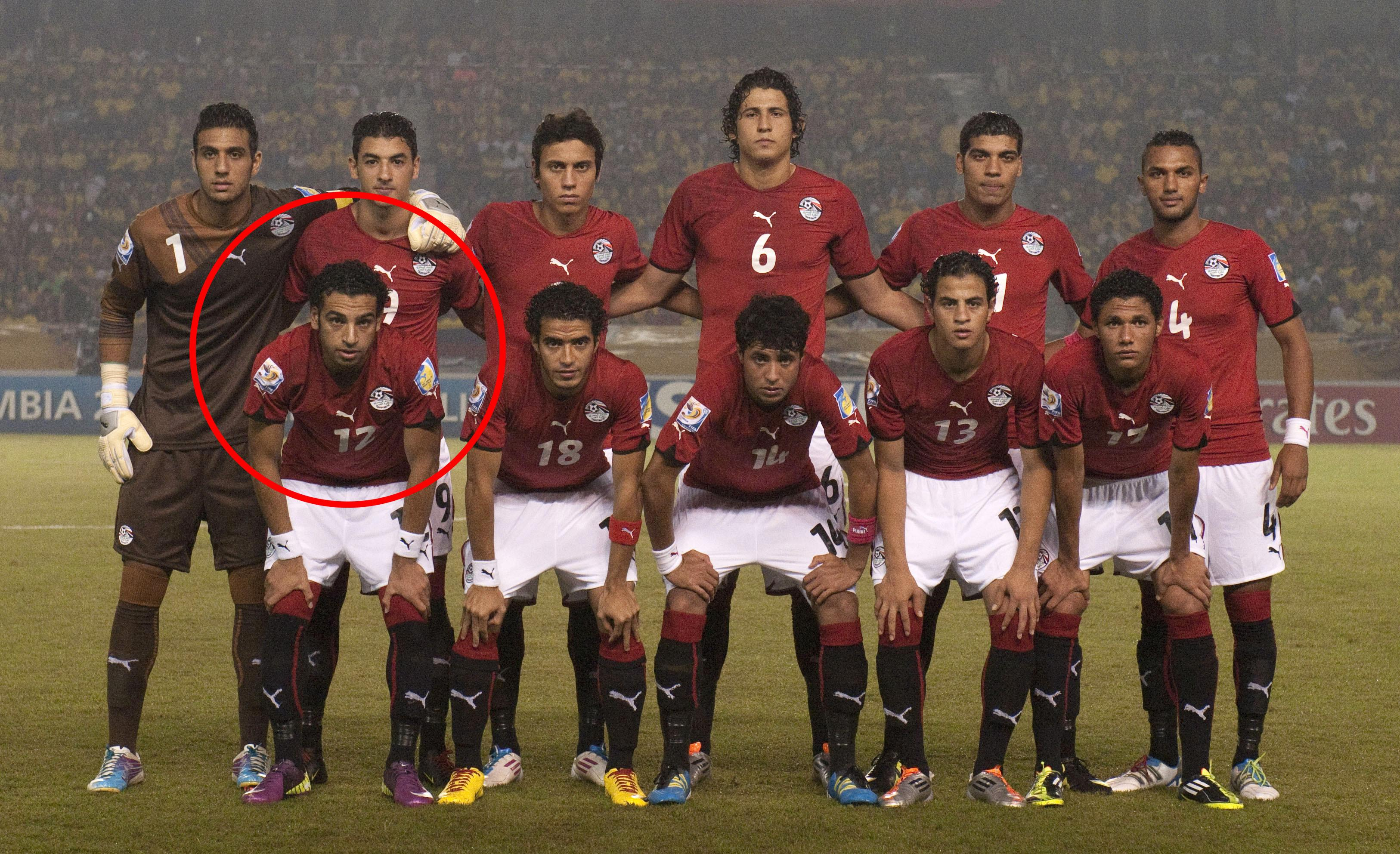 Representing Egypt's Under-20s