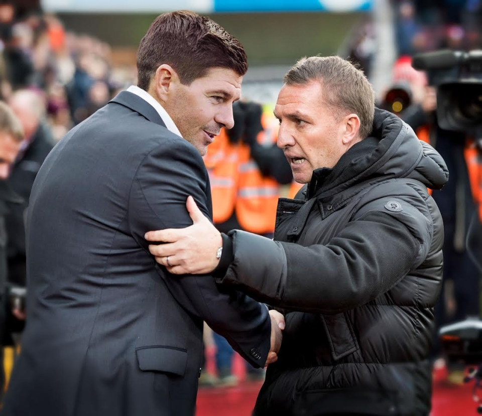 And you thought Stevie G would be a tracksuit manager…