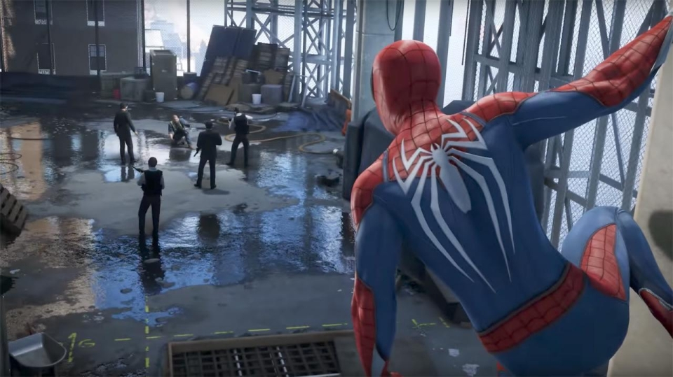 Spider-Man could raise the bar for superhero games – and is a huge exclusive for Sony's PS4