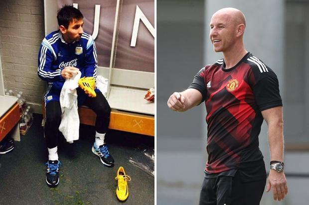 Here S Why Man United Have A Picture Of Lionel Messi In Their Academy Dressing Room