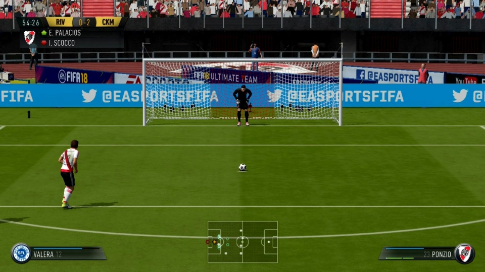 FIFA on Switch uses a modified version of the IGNITE engine