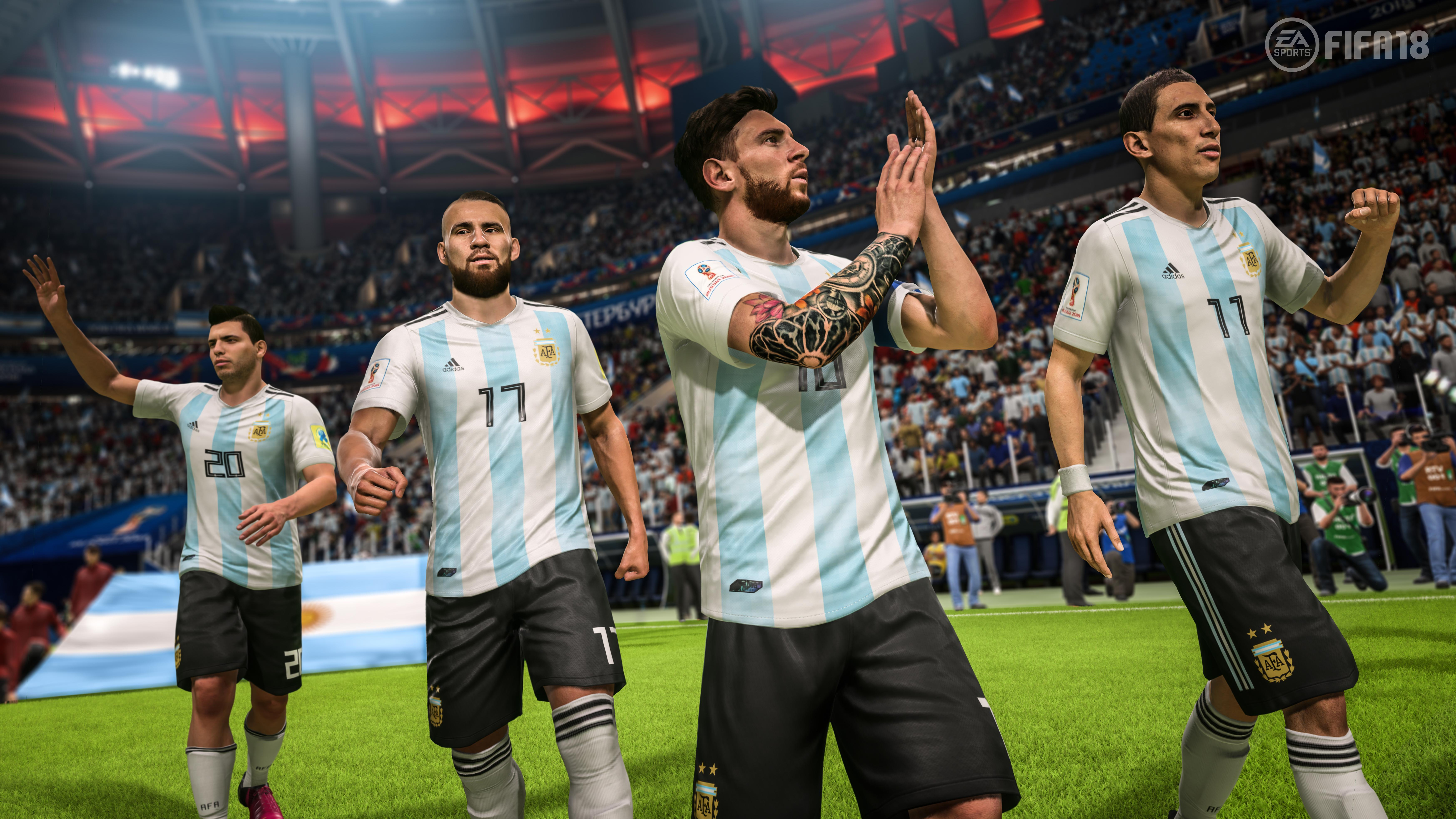 Frostbite made its name with FPS games – but has helped FIFA's presentation come on leaps and bounds