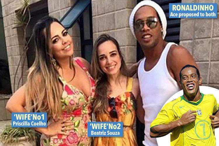 Ronaldinho 'to Marry Two Girlfriends At The Same Wedding