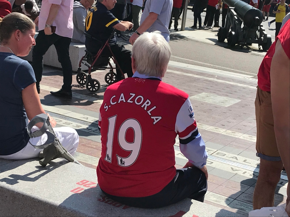 The injury has aged Cazorla significantly
