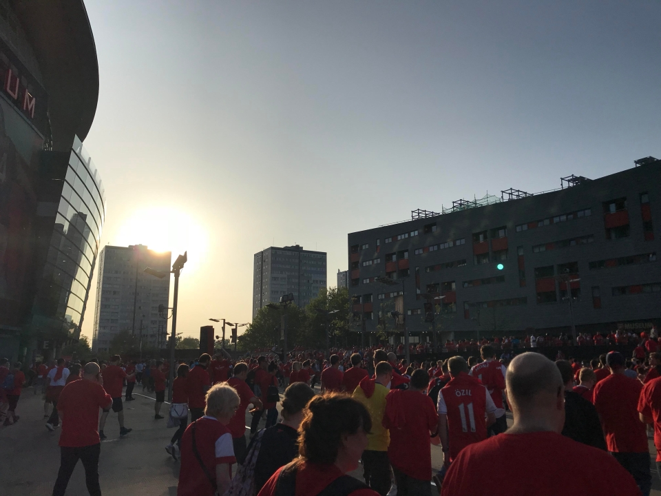 The sun sets on Wenger's time at Arsenal