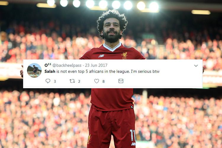 Here S What Everyone A Few People On Twitter Said About Mohamed Salah The Day He Signed For Liverpool