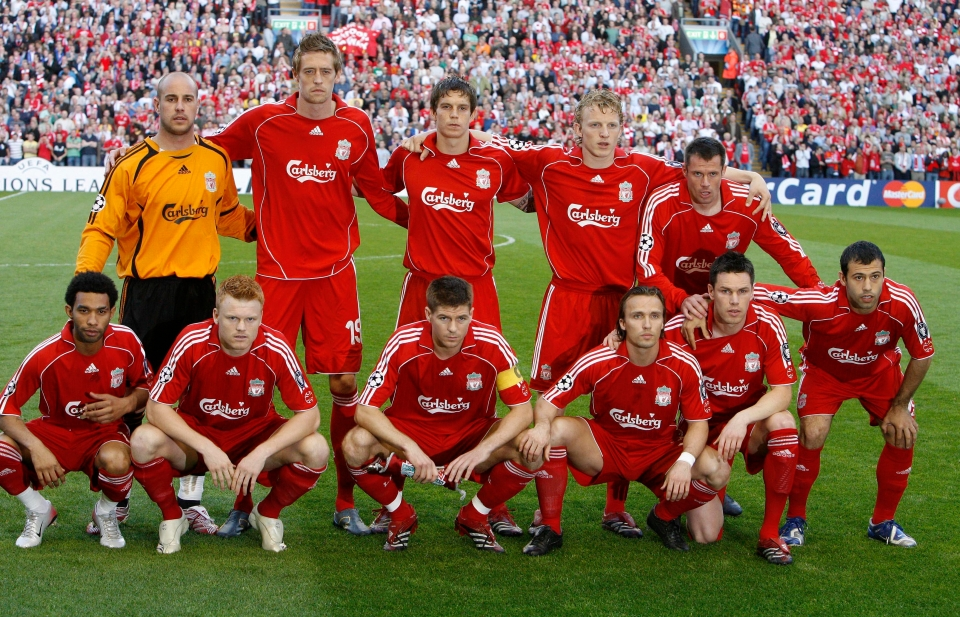 Pennant was a major part of the side that reached the 2007 Champions League final