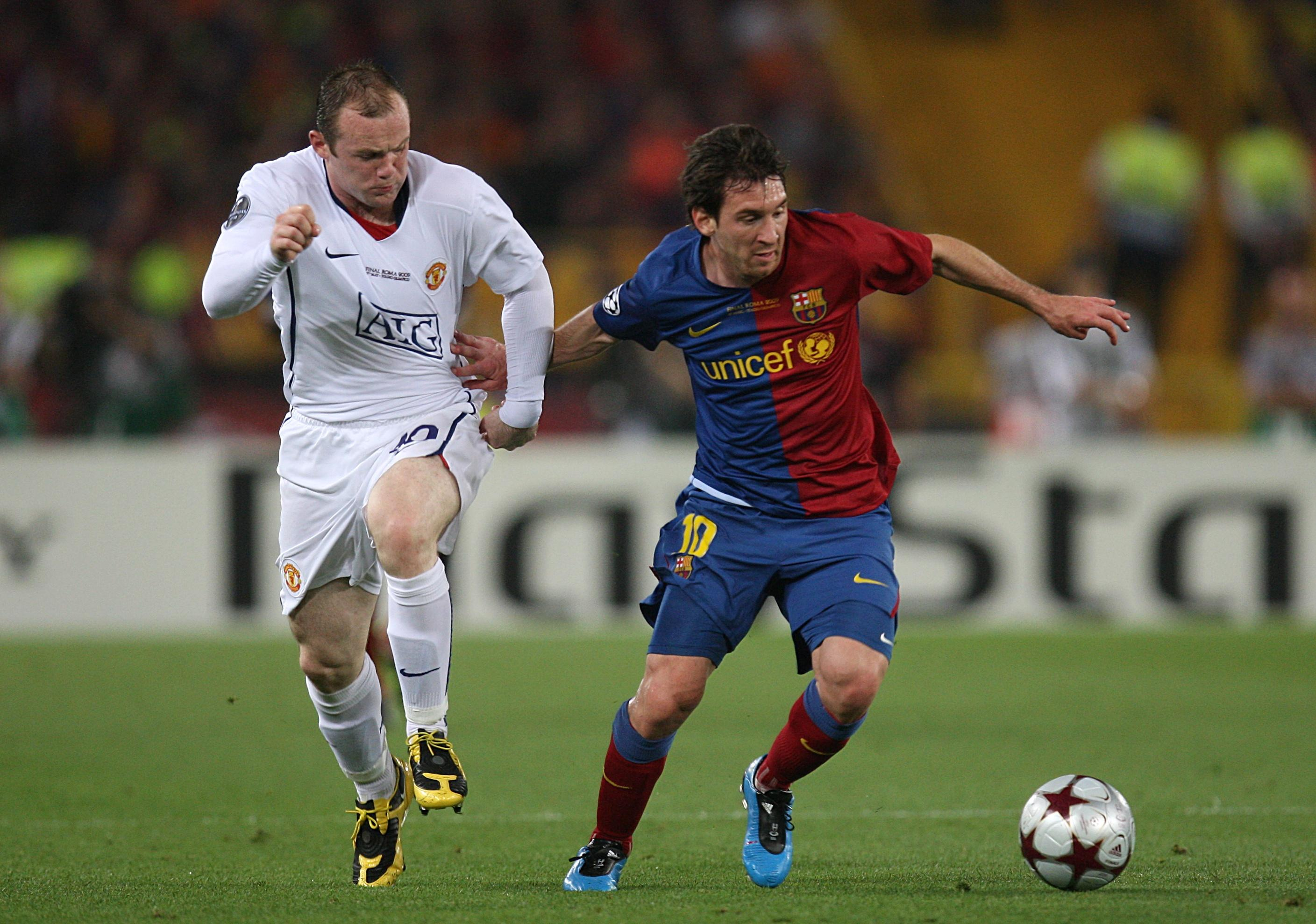 """Rooney is the greatest English player of his generation."" – Lionel Messi"