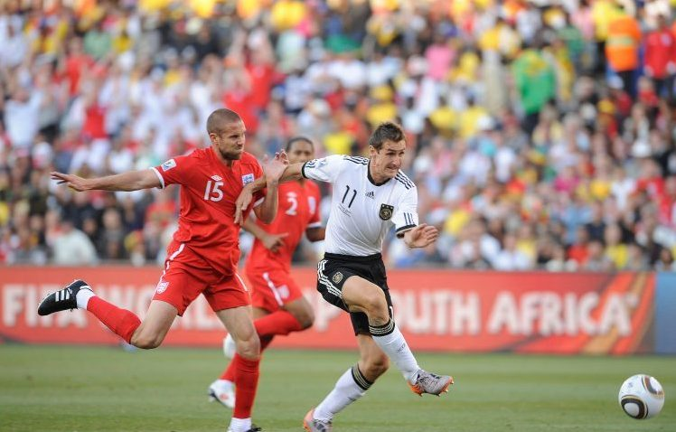 Not a good look when you're getting outpaced by Miroslav Klose