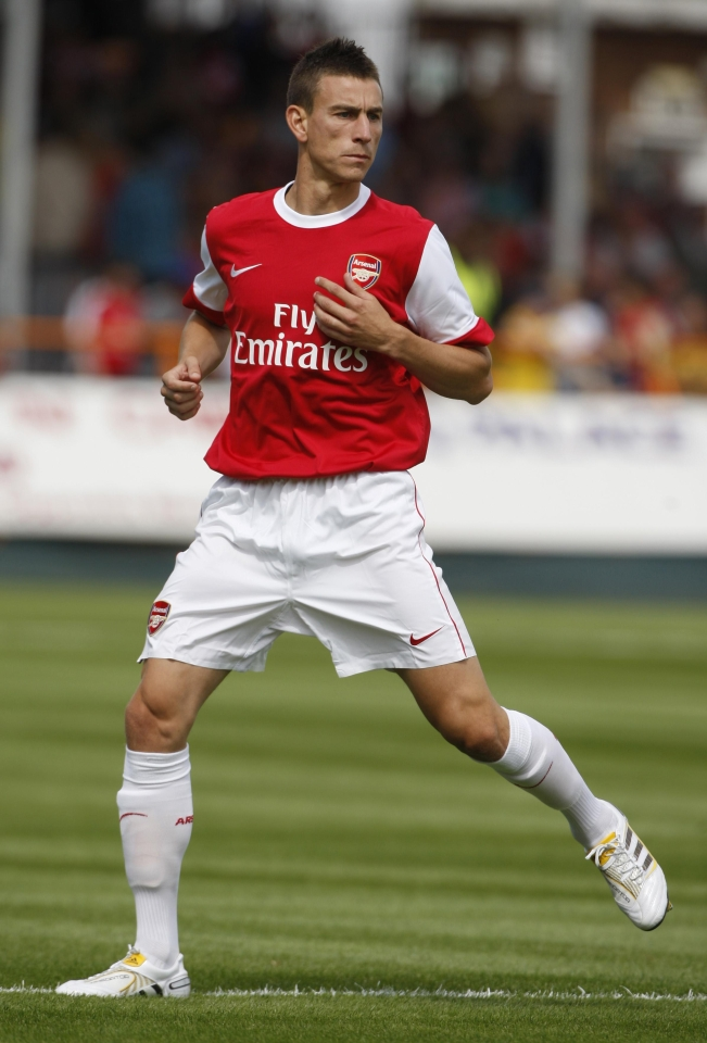 Koscielny has been with Arsenal since 2010