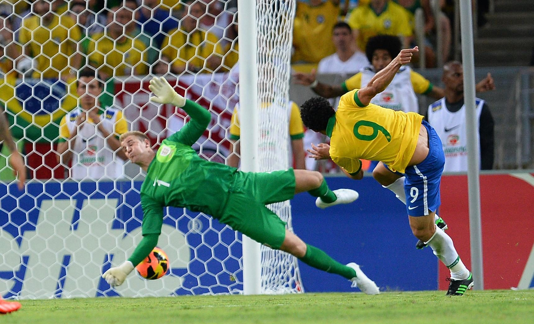 It's not easy to score against Joe Hart