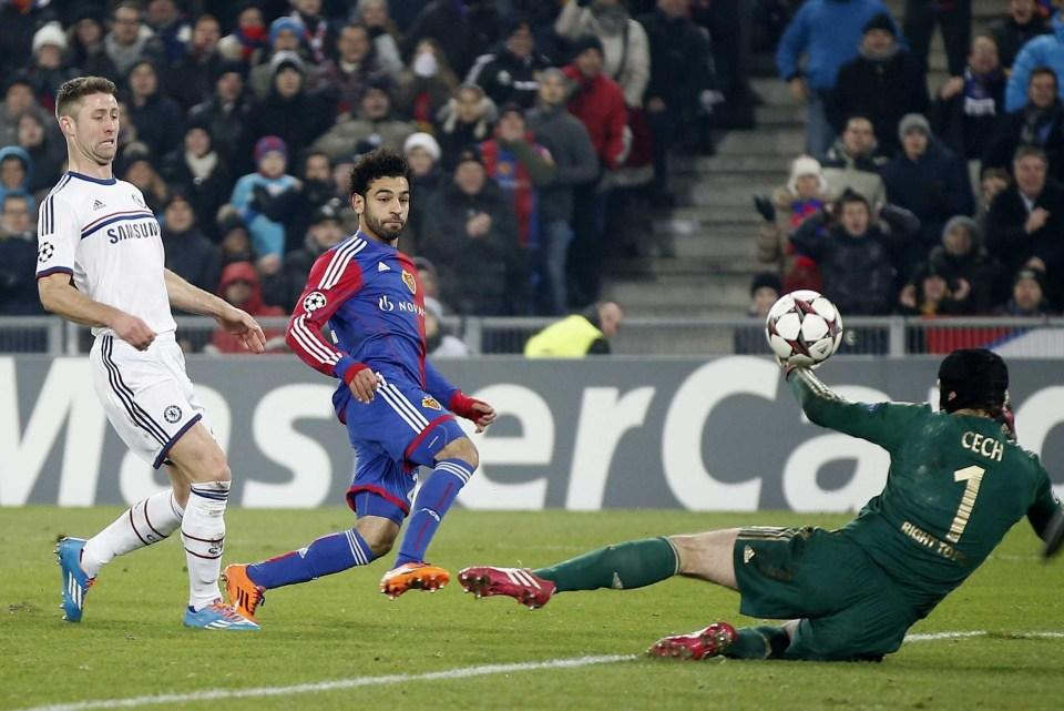 Salah had a knack of scoring against English sides