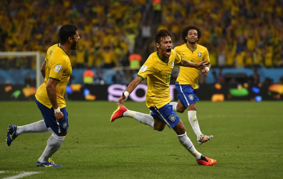 Neymar was on fire before his injury