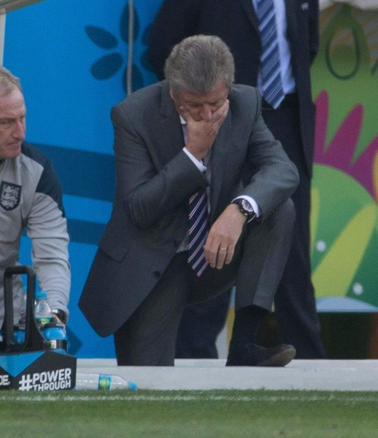 Think that pretty much sums up England's tournament
