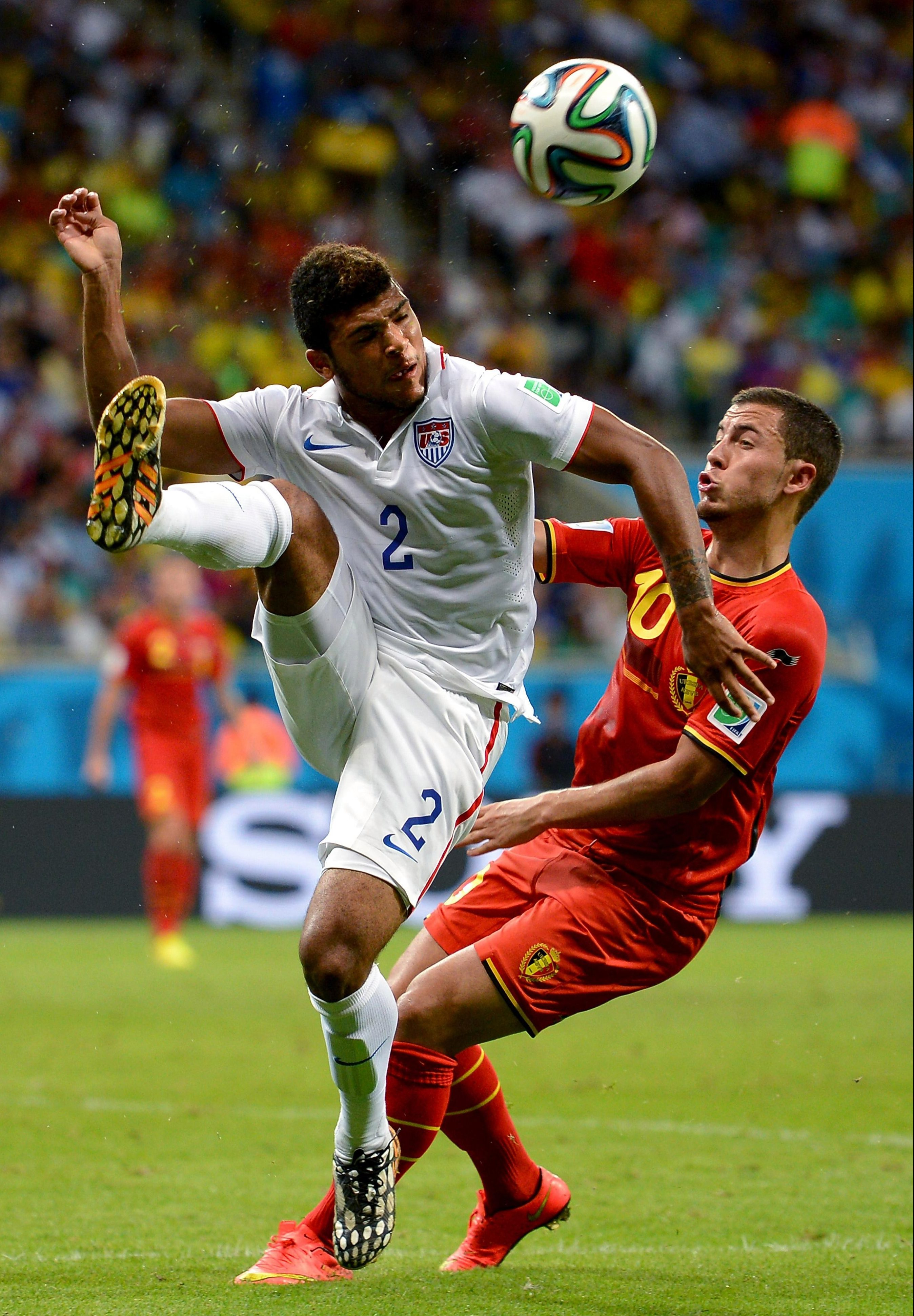 Yedlin pocketed Hazard