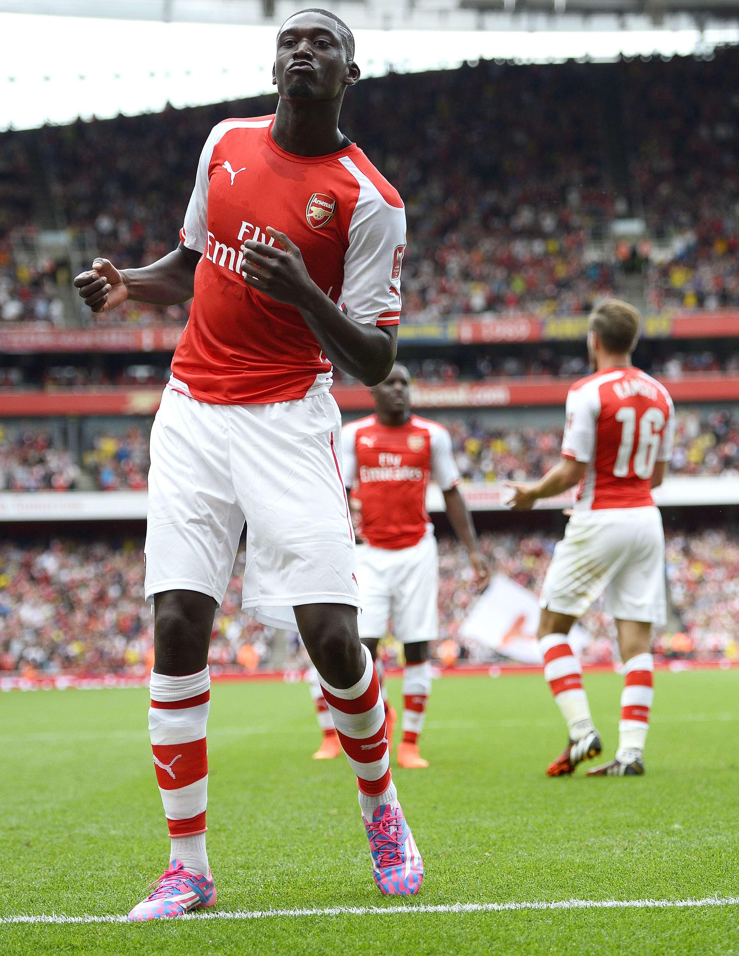 We'll never forget his Emirates Cup antics