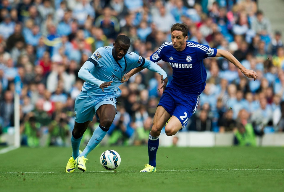 Toure and Matic had some mean battles