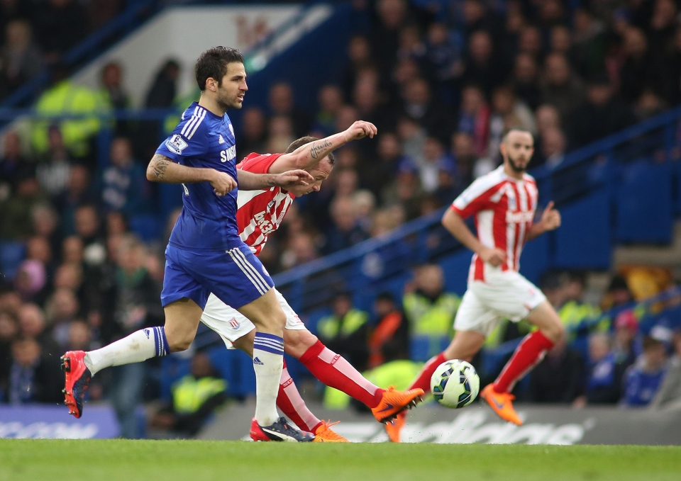 One is a magical midfielder, the other is Cesc Fabregas