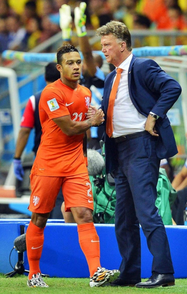 The only man that could stop Costa Rica, Louis Van Gaal