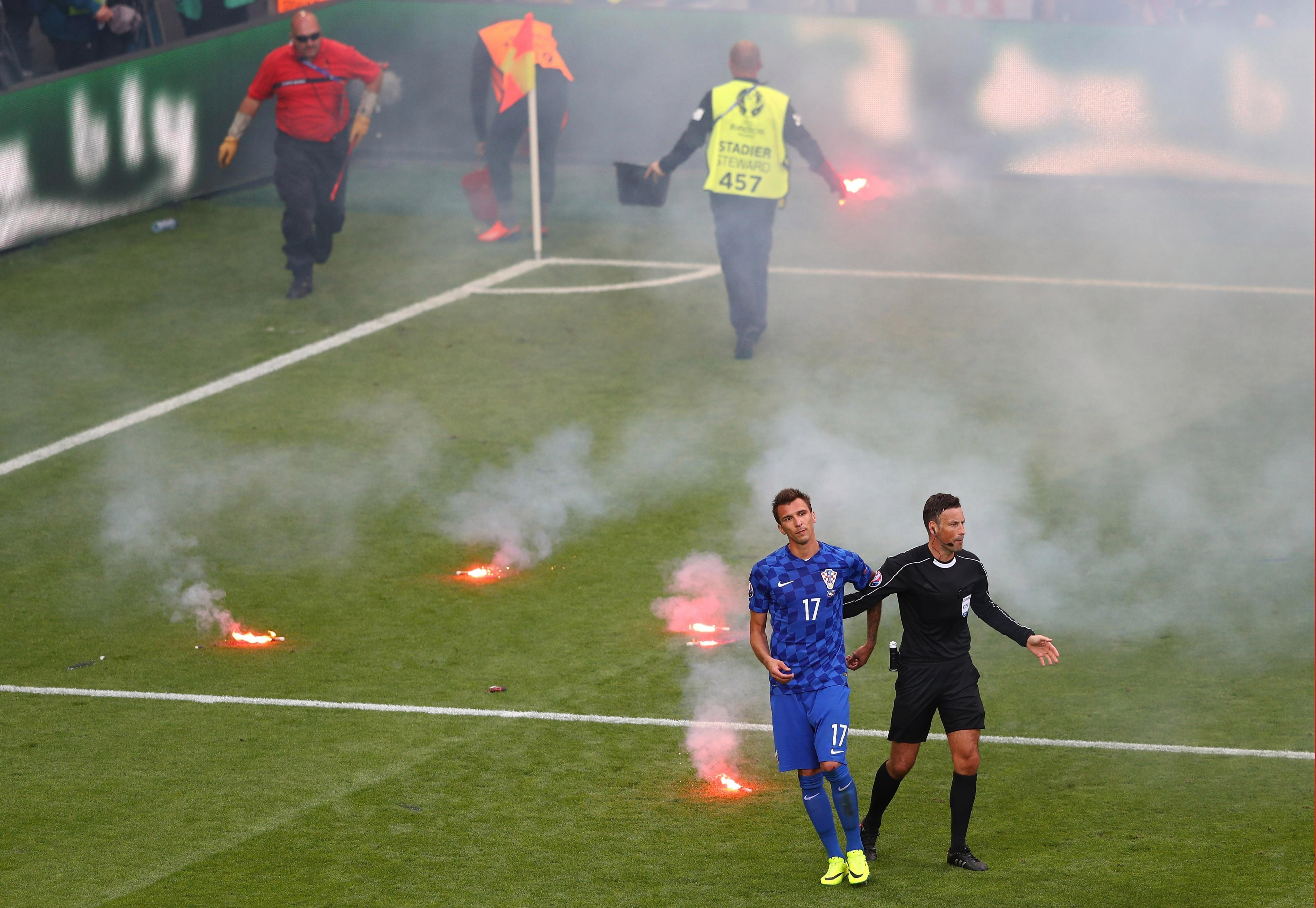 """""""Let me go! I want to play with the flares FFS."""""""