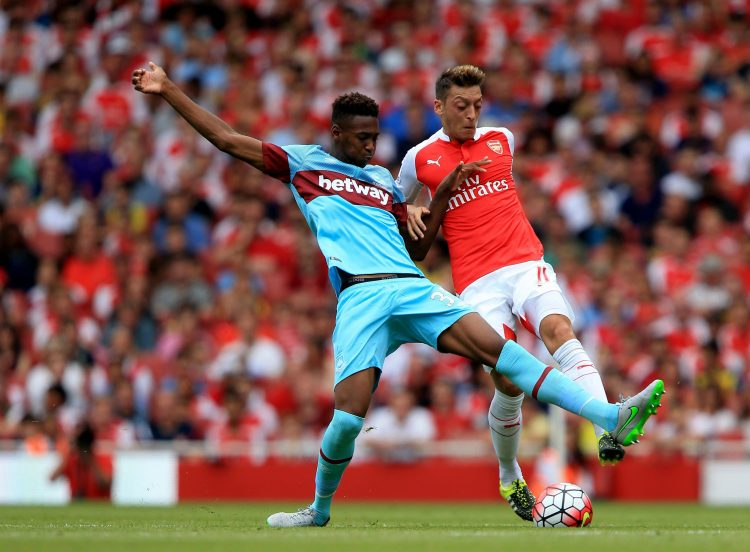 Ozil could not handle a 16-year-old Oxford