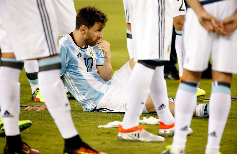 Despair after another final defeat