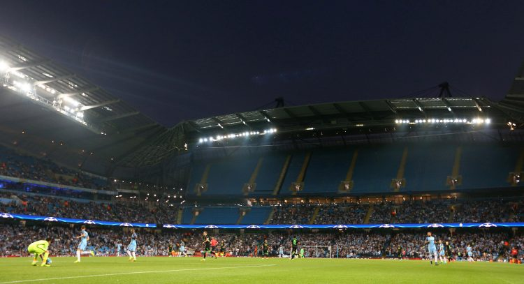 Ah Champions League games at the Etihad, that will be just like Anfield, right?