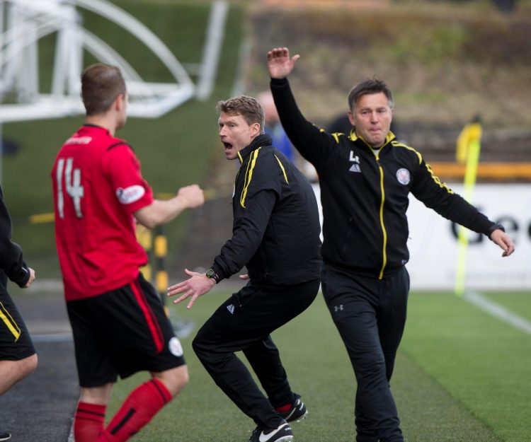 Live scenes from Brechin's last league win… in May 2017