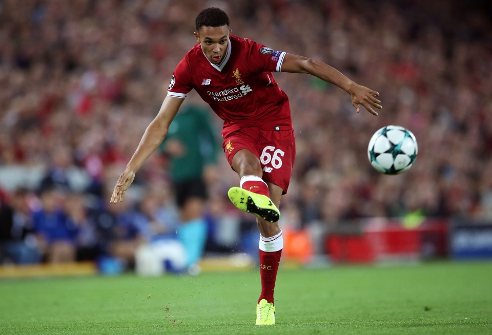 The spotlight hovers over Liverpool's front three but TAA is a protagonist who demands attention