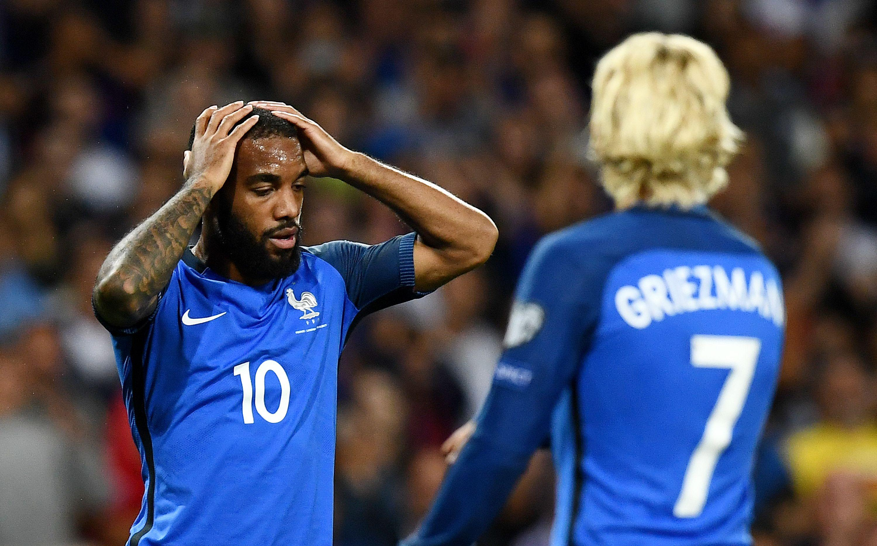 Lacazette's World Cup ambitions hang in the balance