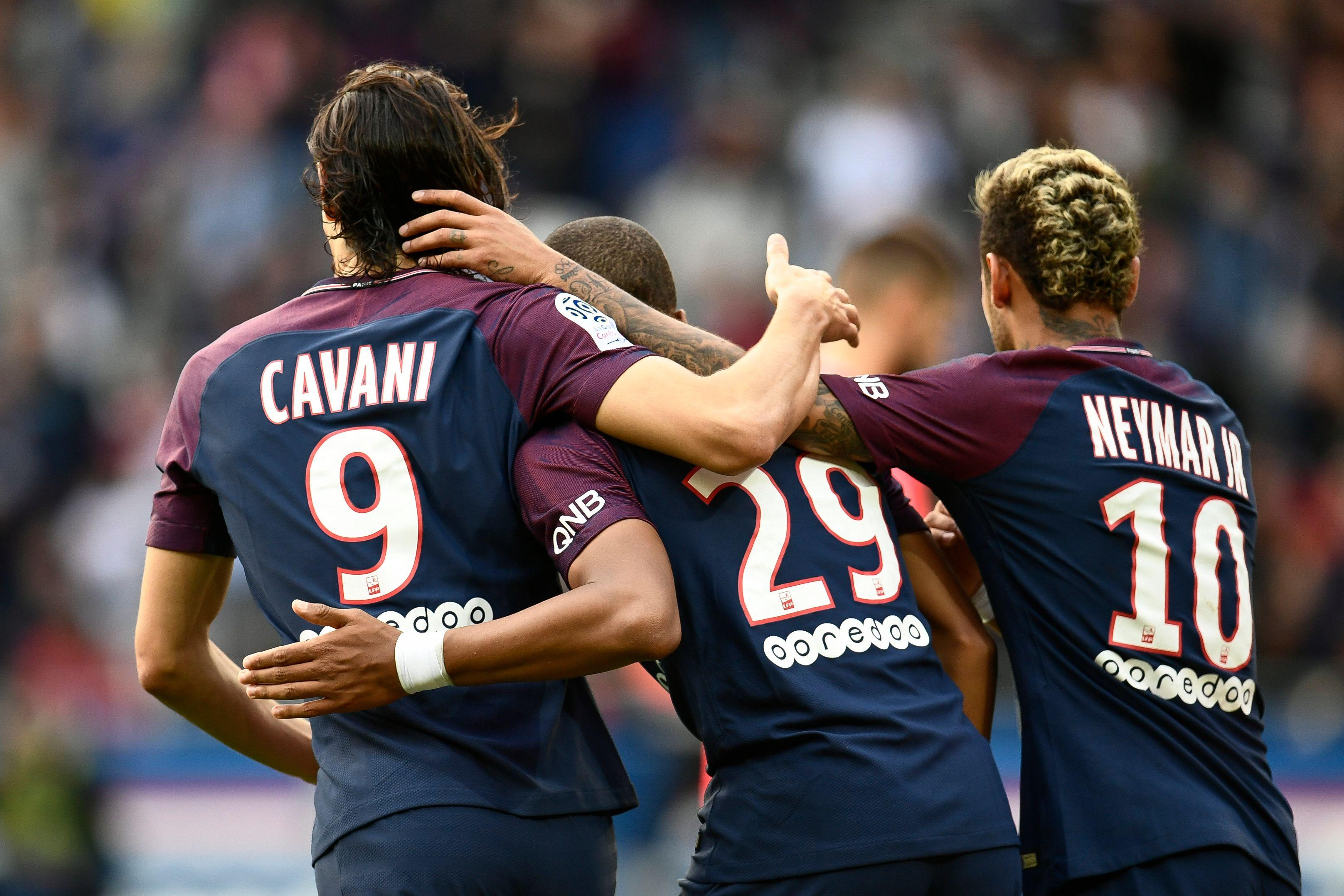 PSG are set to fall five points short of City's total this season