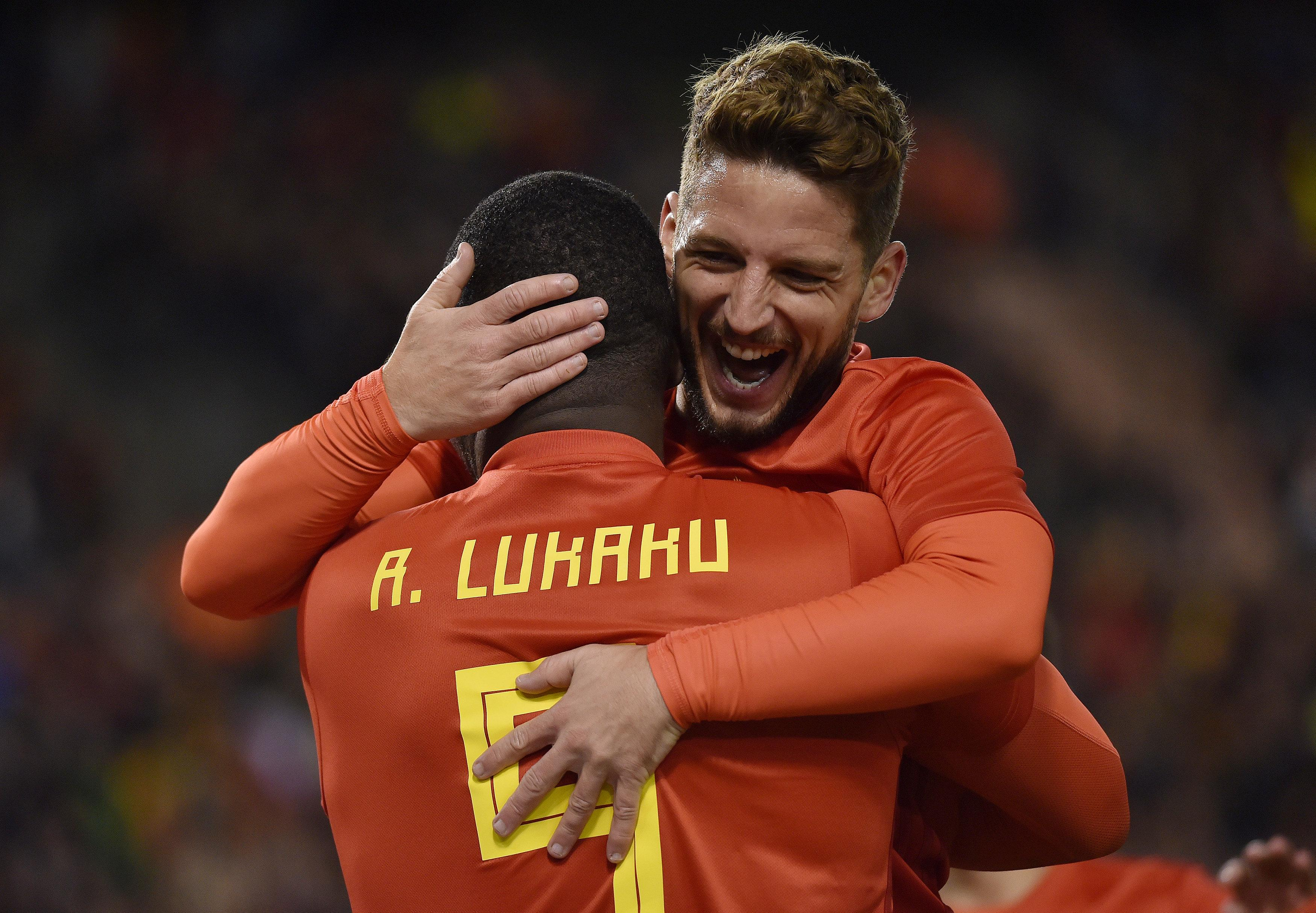 Belgium's squad is stacked with star-talent, including Napoli star Dries Mertens