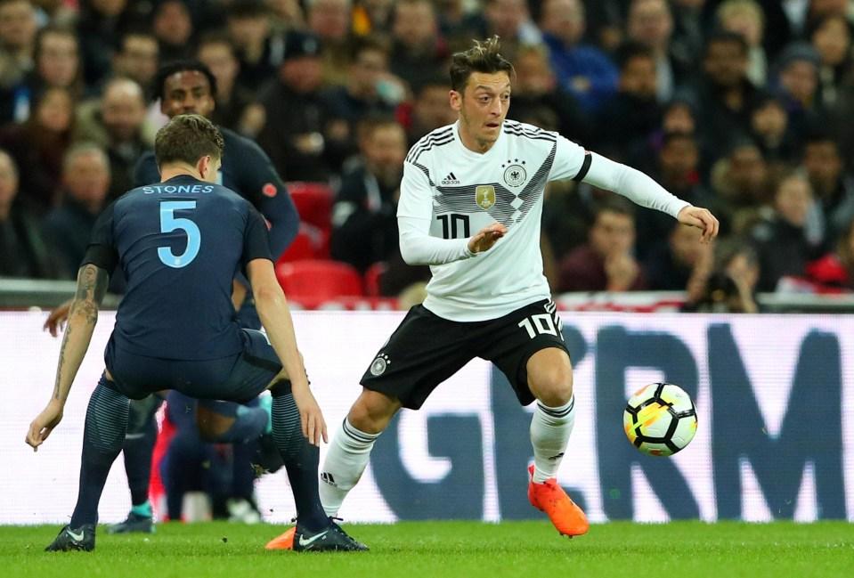 I wonder if Mesut Ozil fancied turning up?
