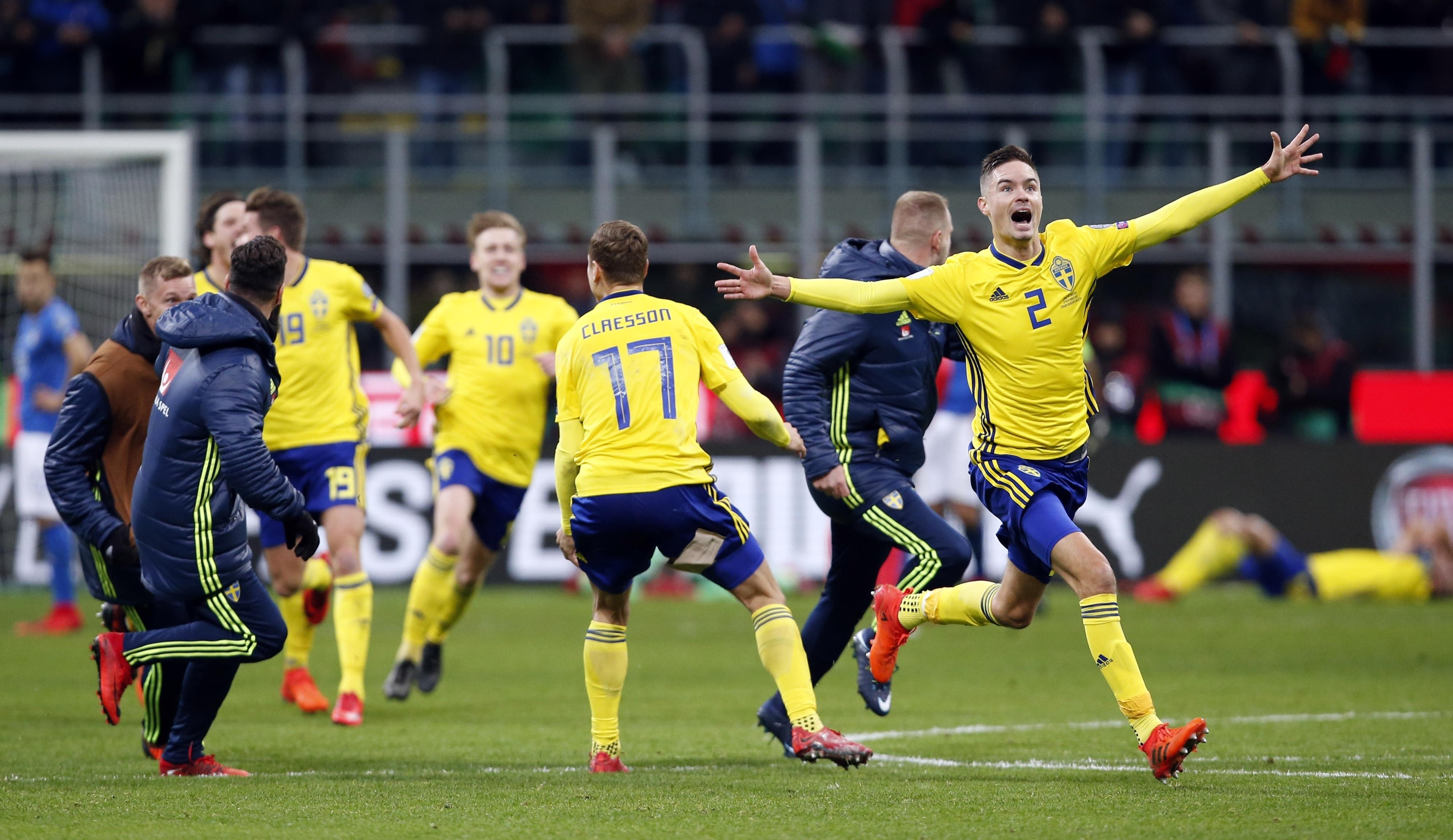 Italian fans will be watching Sweden with intrigue and envy