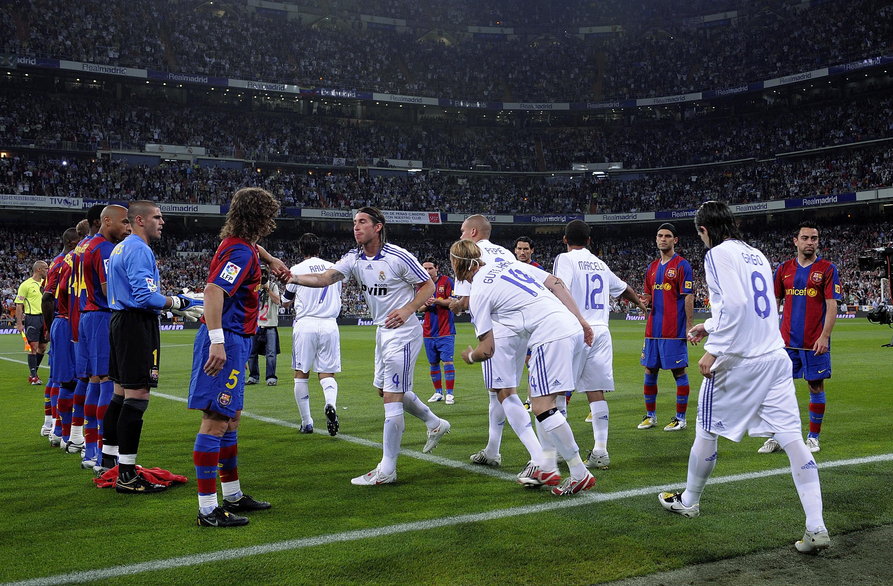 Barca lined up for Real in 2008