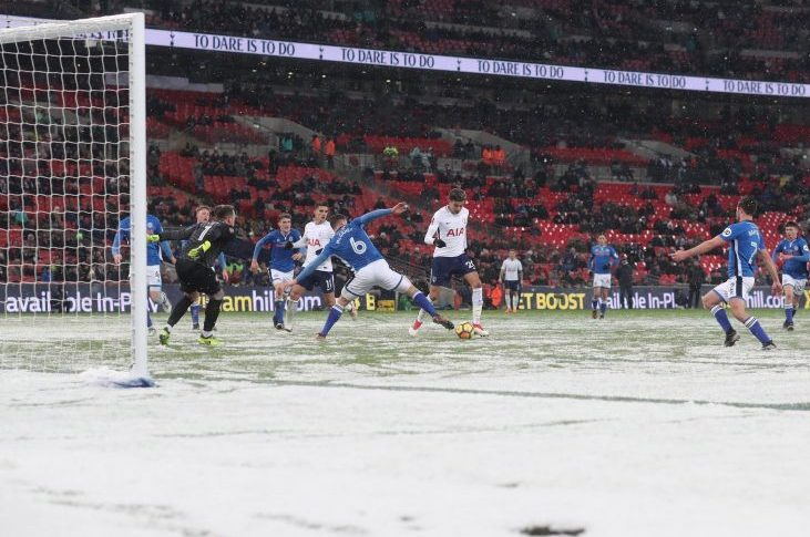 You couldn't pay me to go and watch football in these conditions