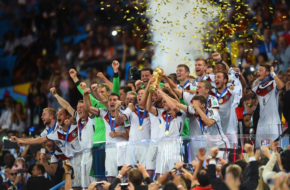 We'll be seeing this again if the world rankings are anything to go by