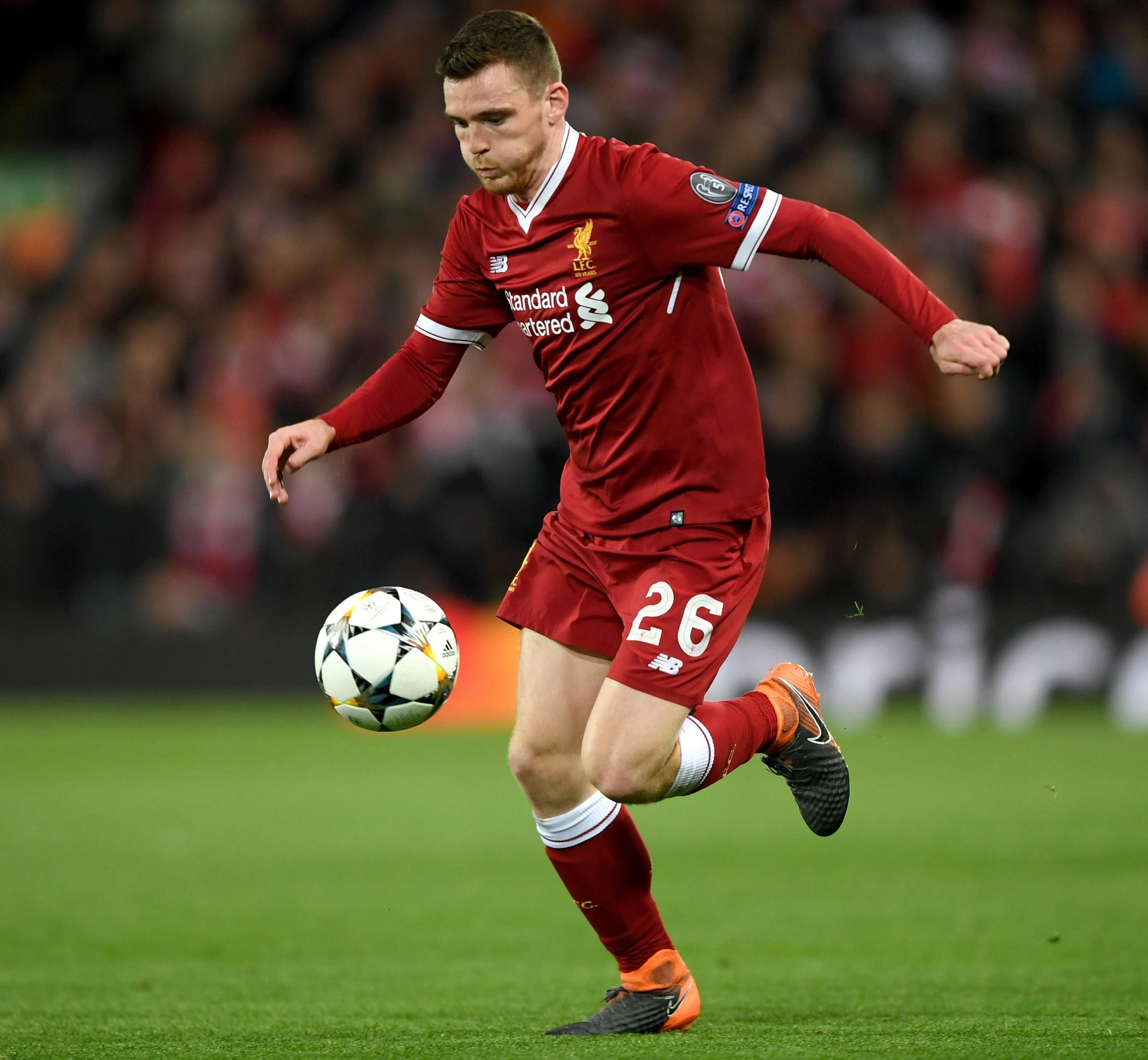 Robertson ran home from Rome. Pass it on