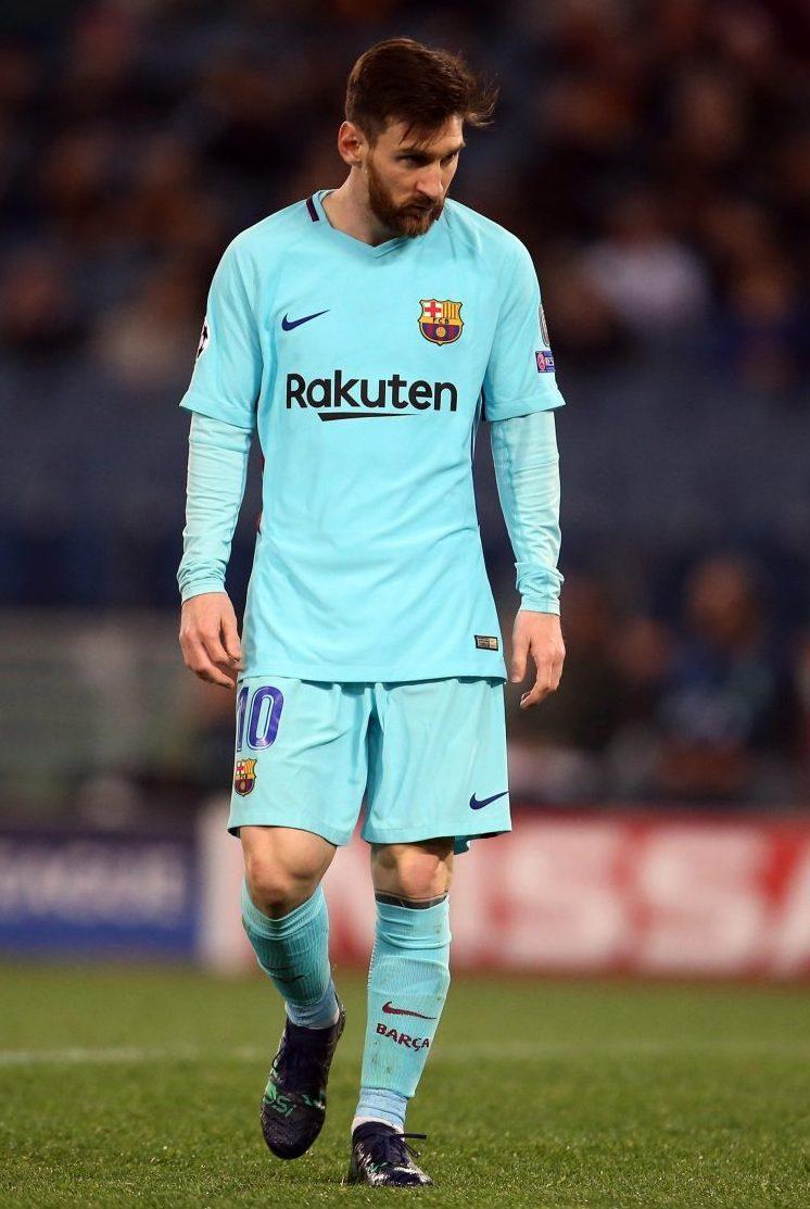 Sad Messi