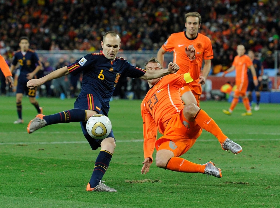 TBT to 2010, better days for Spain