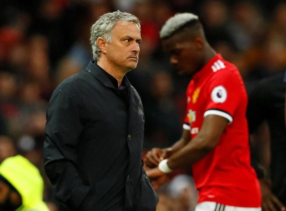 Paul Pogba has also had the Jose treatment this season