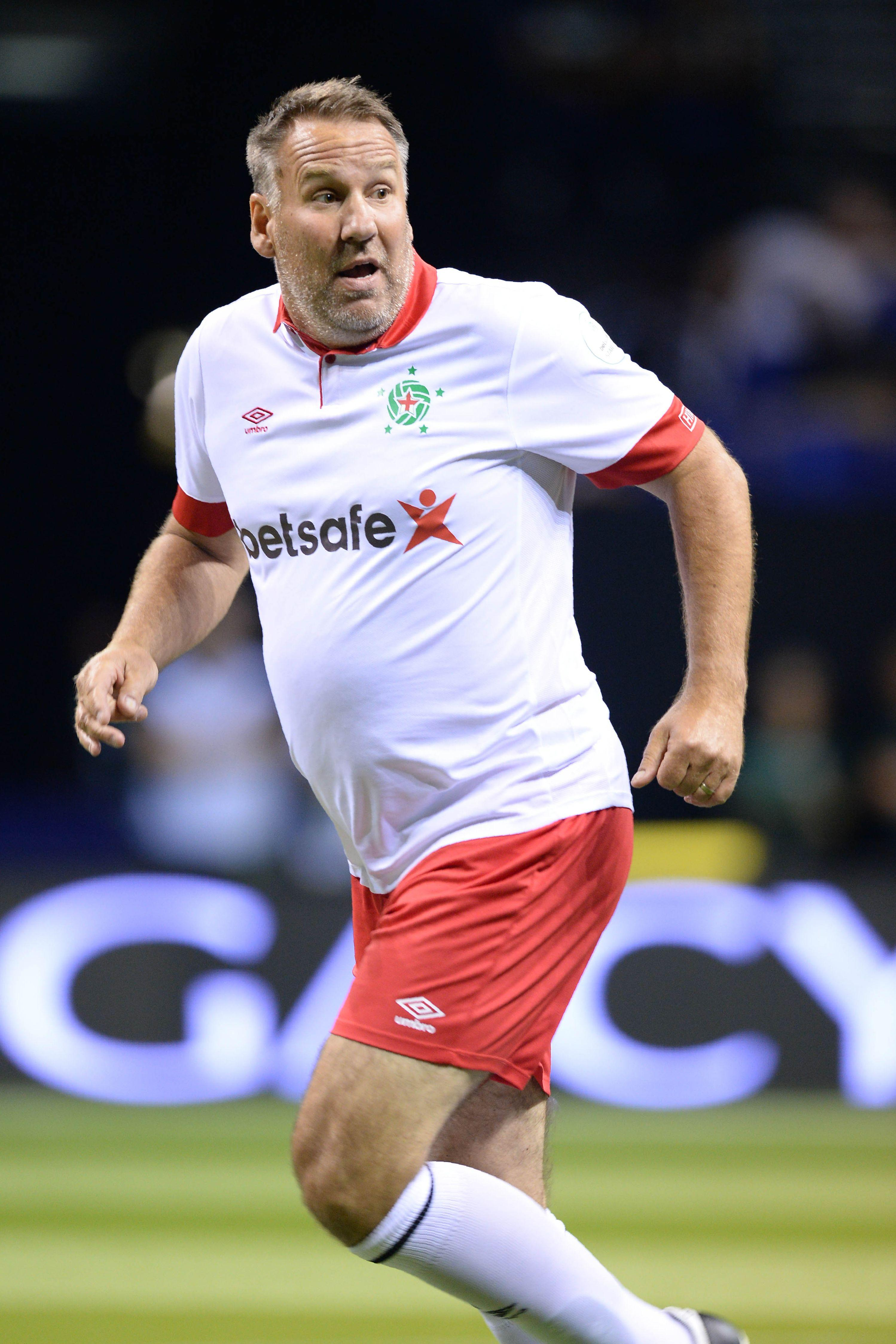 Get ya boots on and show em how it's done, ey Merse!