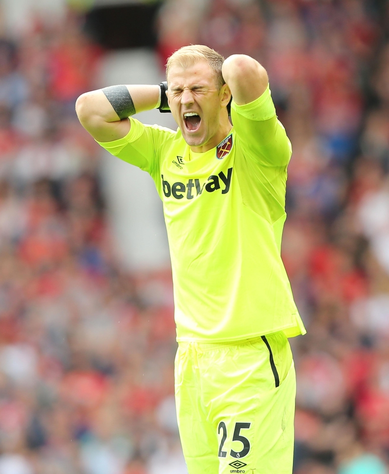 Joe Hart is on the radar of Southampton and Wolves this summer