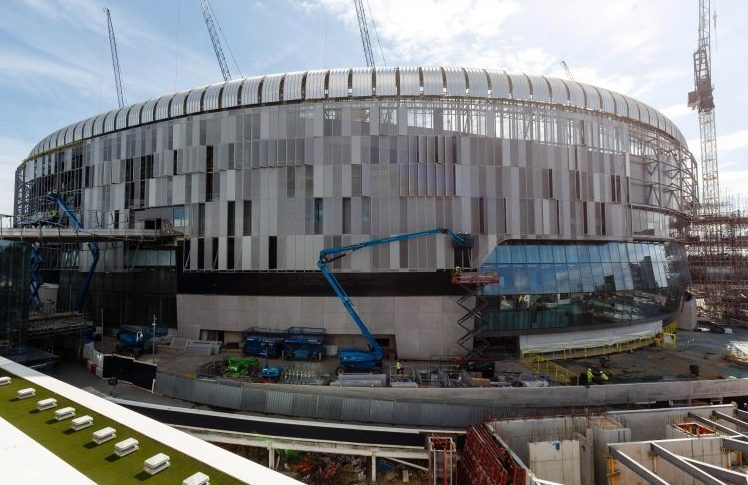 Spurs will have their own mega-stadium for next season