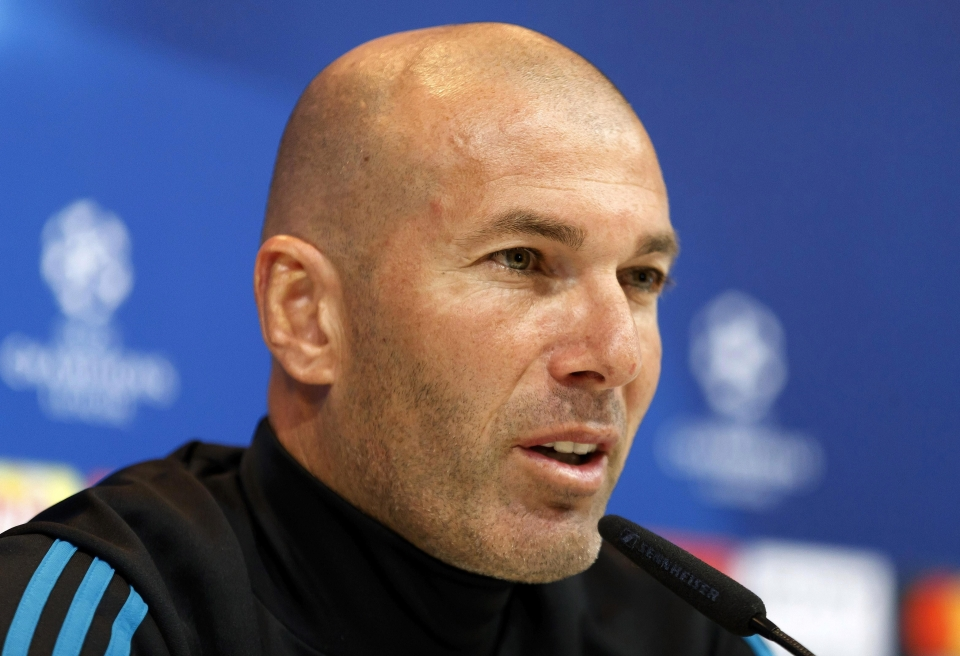 Zizou was not pleased when Barca turned down Real earlier this season