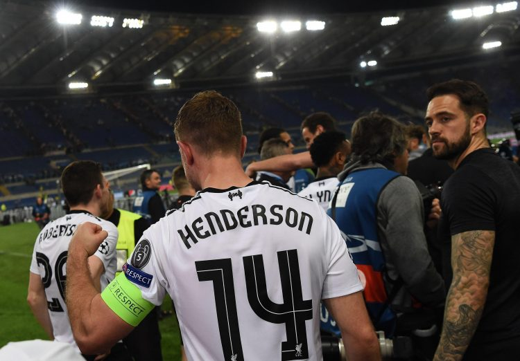 Henderson's game time may be reduced as a result