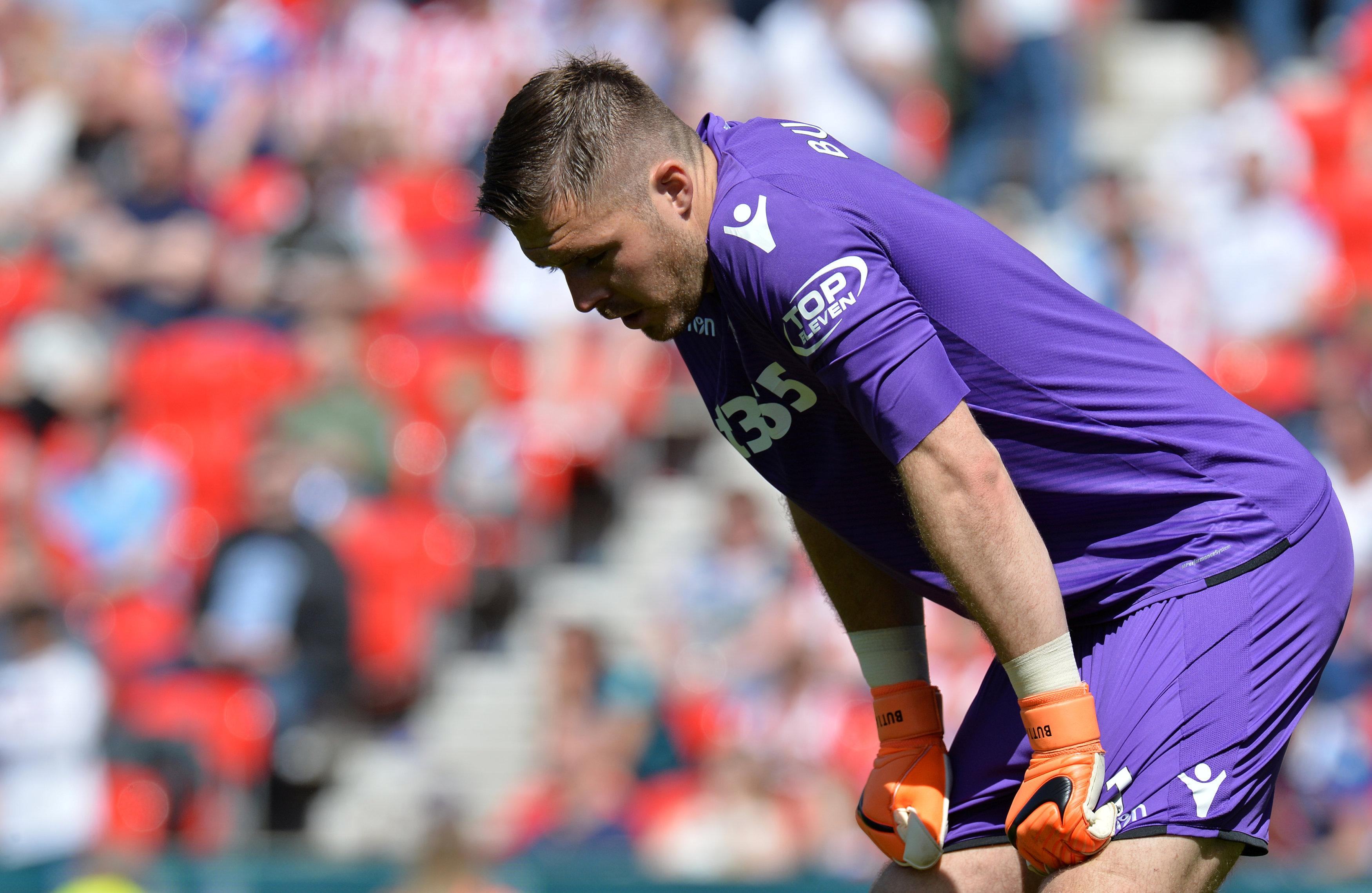 Butland was in tears at the final whistle