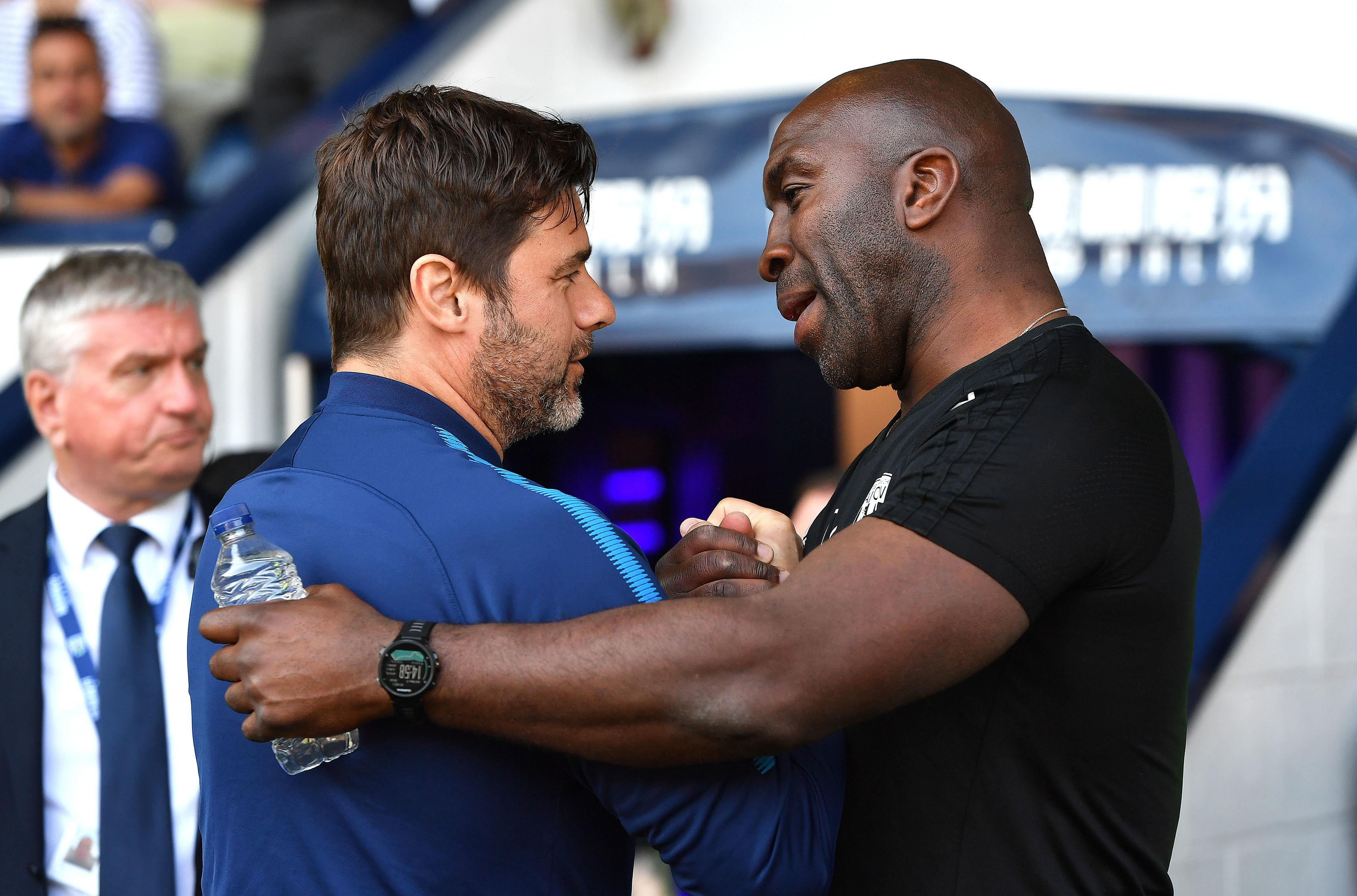 One is a tactical genius, the other is Mauricio Pochettino