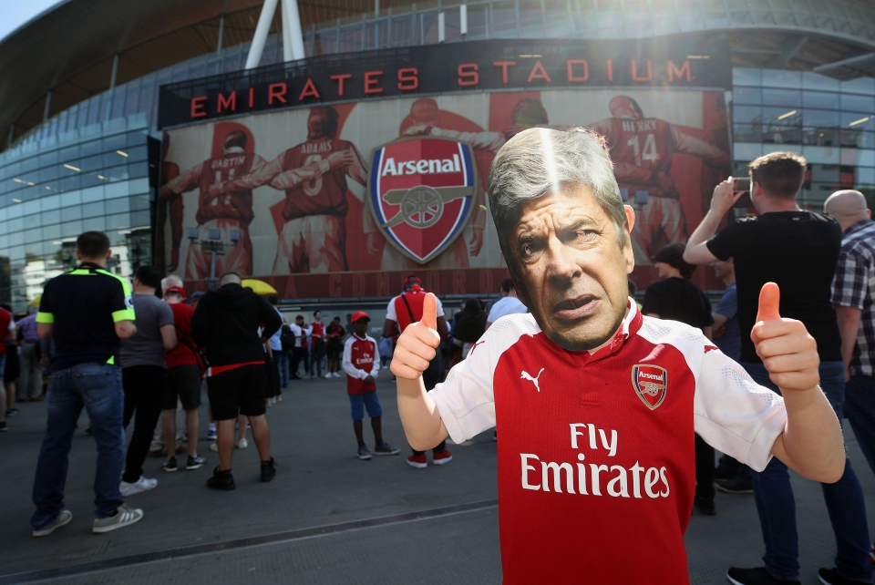 """""""There's only one Arsene Wen… wait, what?"""""""