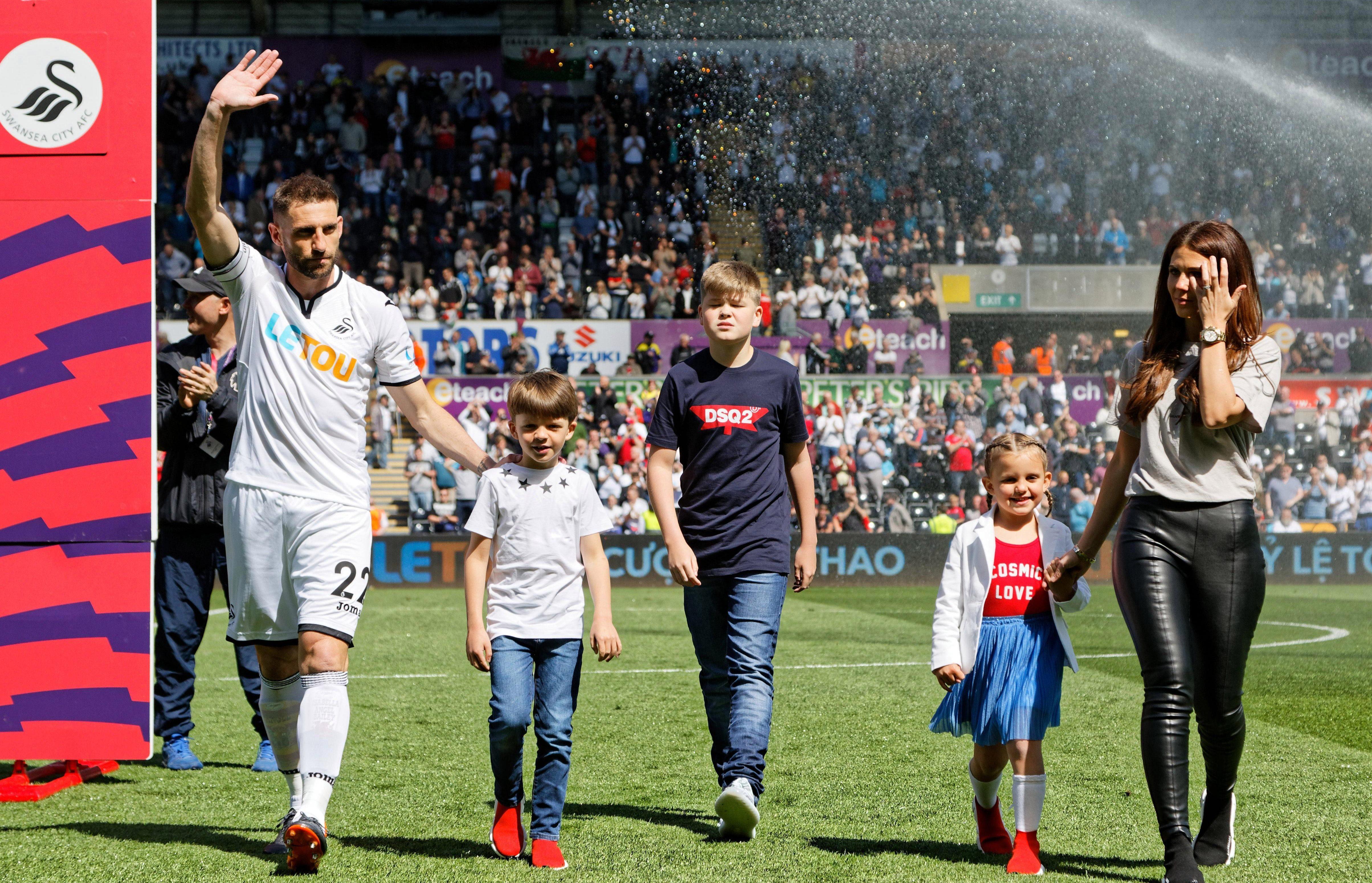 Swansea love a good at Spaniard